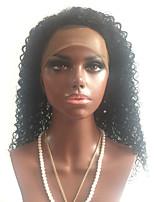 reale remy billig weiche, saubere nasse freien Teil verworrene lockige brasilianische Menschen reine Haar glueless Spitzefront menschliche