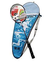 Raquettes de Badminton Faible résistance de l'air Durable Légère Fibre de carbone Une Paire pour