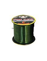 500M / 550 Yards Monofilamento Linhas de Pesca Verde 60LB 2.5 mm Para Pesca Geral