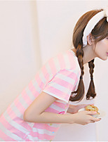 Uniformes & Tenues Chinoises Costumes Vêtement de nuit Femme,Imprimé Rayé-Moyen Coton Aux femmes