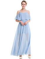 SUOQI Plus Size Women Dresses Solid Color Bohemian Beach Dress Gathering Party Chiffon Dresses