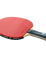 Ping Pang/Tennis de table Raquettes Ping Pang Fibre de carbone Long Manche Boutons1 Raquette 3 Balles de Tennis de Table 1 Sac de Tennis