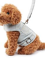Dog Harness Safety Solid Denim