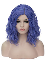 European and American fashion daily small and pure and fresh Violet noodles roll party cos wig