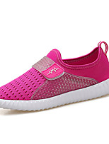 Women's Sneakers Spring Summer Comfort Couple Shoes Tulle Outdoor Athletic Casual Flat Heel Magic Tape Running