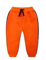 Pantalons Garçon Décontracté / Quotidien Couleur Pleine Coton Hiver Printemps