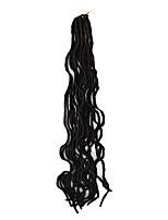 Havanna Curly Flechten Haarverlängerungen Kanekalon Haar Borten
