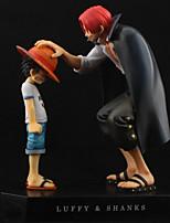 Figures Animé Action Inspiré par One Piece Monkey D. Luffy PVC 18 CM Jouets modèle Jouets DIY