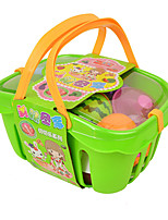 Toy Kitchen Sets Toy Foods Circular Vegetables Plastic Children's 5 to 7 Years 8 to 13 Years