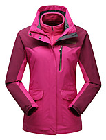 LEIBINDI Women's Winter Jacket 3-in-1 Jackets Skiing Climbing Outdoor Sport Hiking Waterproof Windproof Thermal / Warm Windproof