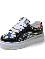 Women's Athletic Shoes Spring Comfort PU Casual Flat Heel