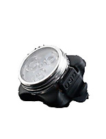 Bike Lights Bike Glow Lights - - Cycling Waterproof Multi-tool Smart 30 Lumens Battery White Camping/Hiking/Caving Cycling/Bike Outdoor