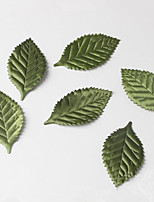 100Pcs  Leaves Artificial Flower For Wedding Decoration Garland Rose Leaf Foliage Decorative Craft Fake Flowers