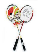 Raquettes de Badminton Durable Légère Antidérapant Une Paire pour