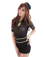 Ladies Fashion Sexy Temptation Transparent Suit