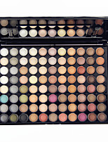 88 Colors Pro Eye Shadow Eyeshadow Palette Dry Matte&Glitter Smoky Earth Tone Color Eyeshadow Powder Daily Party Makeup Cosmetic Palette Set