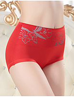 Retro Solid Shaping PantiesCotton