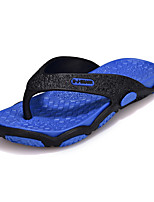 Men's Slippers & Flip-Flops Summer Light Soles Microfibre Leather Outdoor Casual Flat Heel