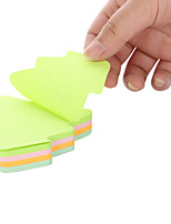 Originality of 4 kinds of color of post-it notes can be used repeatedly