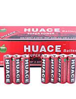 Huace aa bateria alcalina / alcalina de zinco 1.5v 40 pack