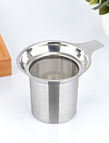 1PC 8.8*7.5 cm  Stainless Steel Tea Strainer  Brew Coffee Maker Manual