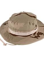 Unisexe Décontracté Coton Polyester Bob Chapeau de soleil,Couleur Pleine Toutes les Saisons