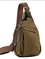Unisex Canvas Outdoor Sling Shoulder Bags