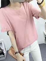 2017 лето новый корейский студент случайные футболку свободно с короткими рукавами хлопка с короткими рукавами футболки сострадания