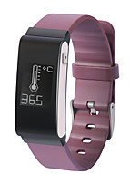 Yy a22 bracelet femme homme / smarwatch / cardiofréquencemètre sm poignet moniteur de sommeil température du podomètre étanche pour