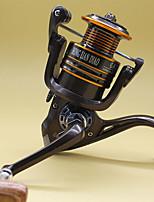 Molinetes de Pesca Molinetes Rotativos 5.2:1 13 Rolamentos Destro Pesca Geral-GA5000