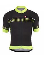 Camisa para Ciclismo Homens Manga Curta Moto Respirável Secagem Rápida Blusas Terylene Moderno Primavera Verão OutonoIoga Boxe Exercício