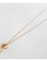 Women's Pendant Necklaces Jewelry Chrome Simple Style Jewelry For Daily Casual 1pc
