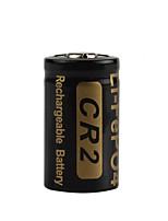 bateria recarregável 3V 400mAh de alta capacidade cr2 lifepo4 2pcs Soshine para os faróis lanternas de LED
