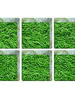 Green Grass 3D Bathroom Non-Slip Stickers The Floor Tile Individuality Decorative Stickers