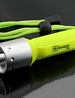 LED Flashlights/Torch LED Lumens Mode 18650 Easy Carrying Camping/Hiking/Caving Everyday Use Outdoor Plastic