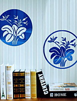 2pcs Shapes Wall Stickers Mirror Wall Stickers Decorative Wall Stickers Acrylic Material Home Decoration Wall Decal