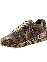 Atletické boty-PU-Pohodlné lehké Soles pár Boty-Unisex-Bílá Hnědá Zelená-Outdoor Běžné Atletika