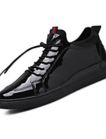 Men's Sneakers Spring Summer Fall Winter Comfort PU Outdoor Athletic Casual Lace-up Walking