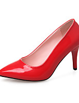 Heels Spring Summer Fall Club Shoes Patent Leather Office & Career Dress Casual Stiletto Heel