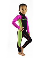Kid's Unisex Full Wetsuit Thermal / Warm Neoprene Diving Suit Long Sleeve Diving Suits Clothing Sets/Suits-Swimming DivingSpring Summer