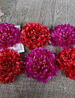 1 Branch Fiber Peonies Tabletop Flower Artificial Flowers Random Color