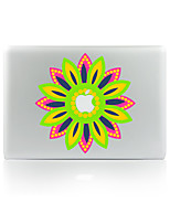 1 pièce Anti-Rayures Fleur En Plastique Transparent Décalcomanie Motif Glow in the Dark PourMacBook Pro 15'' with Retina MacBook Pro 15