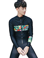 SBART® Femme Homme Costumes humides Résistant aux ultraviolets Antiradiation Confortable Elasthanne Térylène Tenue de plongéeManches