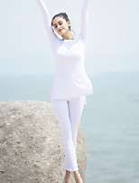 Yoga Clothing Sets/Suits Breathable High Breathability (>15,001g) Compression Comfortable Inelastic Stretchy High Elasticity Sports Wear
