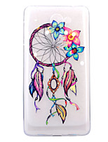 For HUAWEI 6X P8Lite(2017) Case Cover Wind Chimes Pattern HD TPU Phone Shell Material Phone Case