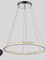 Подвесные лампы ,  Современный Традиционный/классический Электропокрытие Особенность for Хрусталь Светодиодная лампа С регулируемой