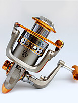 Molinetes de Pesca Molinetes Rotativos 5.2:1 12 Rolamentos Destro Pesca Geral-GF3000