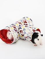 маленькие домашние животные постели игрушки туннель для грызунов кролика случайного цвета