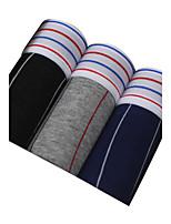 Sexy Sportif Rayé Shorts & Slips Garçon Boxers-Coton Polyester
