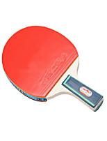 3 Звезд Ping Pang/Настольный теннис Ракетки Ping Pang Дерево Длинная рукоятка Прыщи